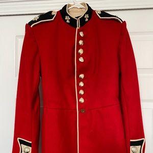 Jackets & Blazers - Authentic! True Irish Guards Tunic with tall hat